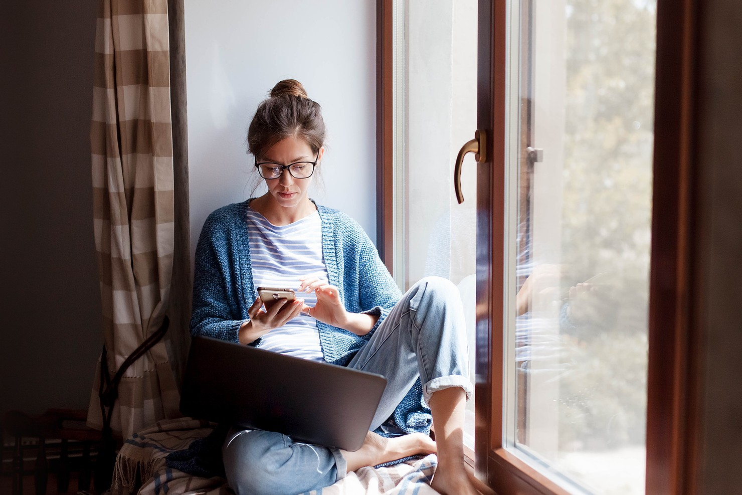 So you're working from home. Now what?